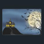 "Two sided Halloween Holiday laminated place mat<br><div class=""desc"">design by originalartwork@delightful-doodles.com</div>"