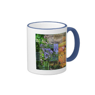 Two-sided Patchwork Manor Hill Mug