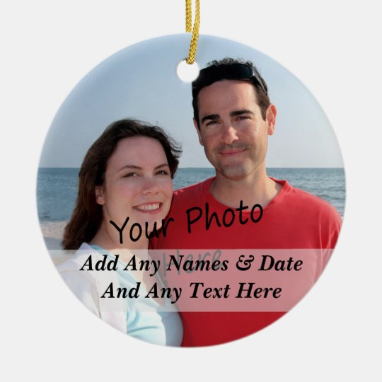Two Sided Photo Christmas, Other Holiday Ornament