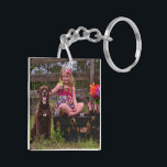 "Two-sided Photo Key Chain<br><div class=""desc"">Ad your personal photos to this two sided key chain.</div>"