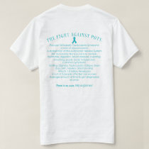 Two Sided POTS Facts/Proud Supporter T-Shirt