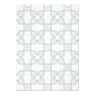 Two sided Repeating Pattern 02 Coloring Card
