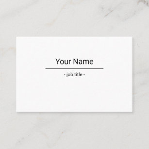 Of decay business cards zazzle two sided simple white decay business card business card reheart Choice Image