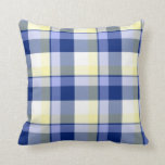 Two Sided Tartan Plaid Design Cushion at Zazzle
