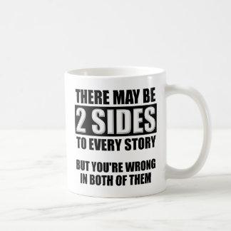 Two Sides Funny Mug