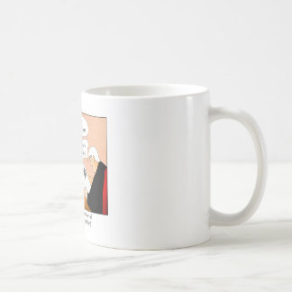 Two Sides with that Cartoon Mug