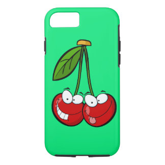Two silly cherries iPhone 7 case
