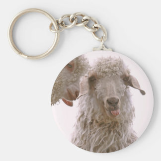 Two Silly Goats Key Chains