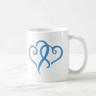 Two Simple Hearts Coffee Mug