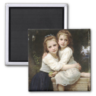 Two Sisters by Bouguereau Magnet