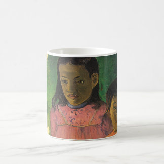 Two Sisters by Gauguin, Vintage Impressionism Art Coffee Mugs