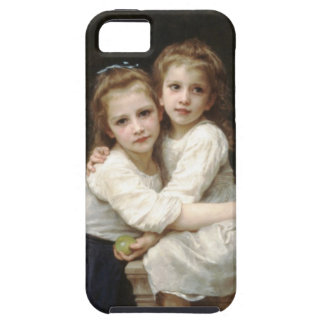 Two Sisters, iPhone 5, William-Adolphe Bouguereau iPhone 5 Covers