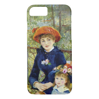 Two Sisters (On the Terrace) By Pierre Renoir iPhone 7 Case