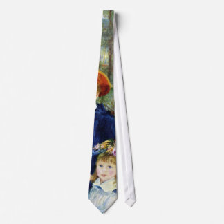 Two Sisters (On the Terrace) By Pierre Renoir Neck Tie