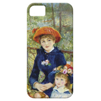 Two Sisters On the Terrace By Renoir iPhone 5 Case