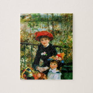 Two Sisters On the Terrace by Renoir Jigsaw Puzzle