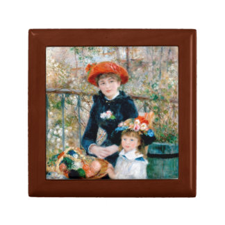 Two Sisters (On the Terrace) Keepsake Boxes