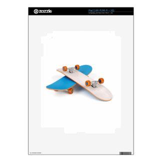 Two skateboards iPad 2 decal