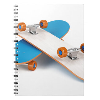 Two skateboards notebook