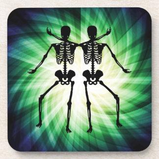 Two Skeletons Coaster