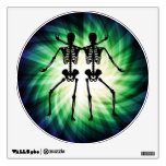 Two Skeletons Wall Graphics
