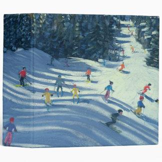 Two Ski-Slopes 2004 3 Ring Binders