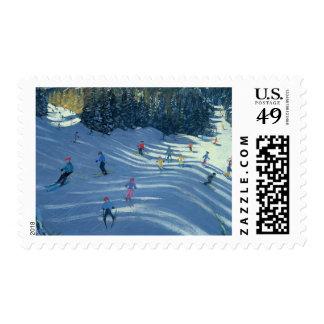 Two Ski-Slopes 2004 Postage