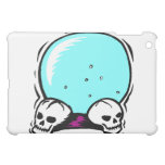 two skulls scrying ball graphic case for the iPad mini