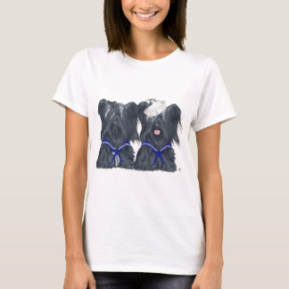 Two Skye Terrier Sailors T-Shirt