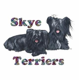Two Skye Terriers Statuette