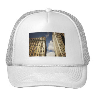 Two Skyscrapers in the Financial District, NYC Hats