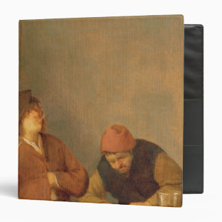 Two Smokers in an Interior, 1643 Binder