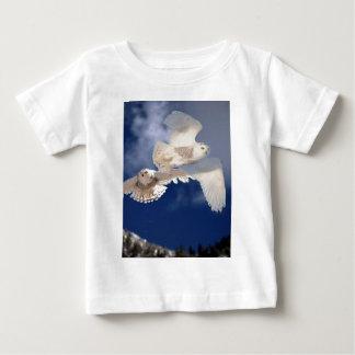 Two Snowy Owls in Flight Tshirts