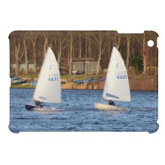 Two Solo Sailing Dinghies iPad Mini Cover