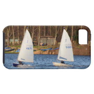 Two Solo Sailing Dinghies iPhone SE/5/5s Case