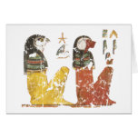 Two Sons of Horus Greeting Card