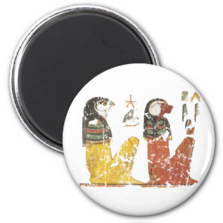 Two Sons of Horus 2 Inch Round Magnet