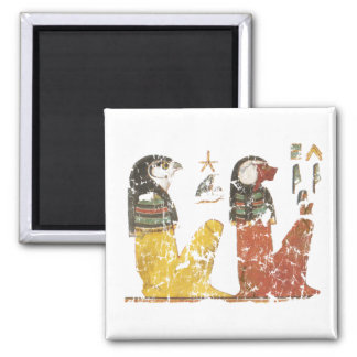 Two Sons of Horus 2 Inch Square Magnet