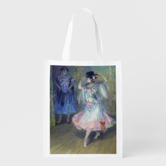 Two Spanish Dancers, 1852 Reusable Grocery Bag