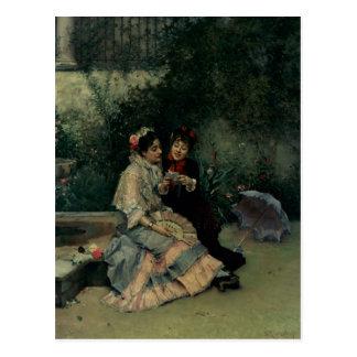 Two Spanish Women Postcard