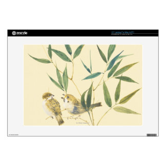 """Two Sparrows 15"""" Laptop Skins"""