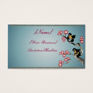 Two Sparrows On A Branch profilecard_business_h... Business Card