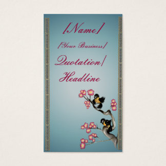Two Sparrows On A Branch profilecard_business_v... Business Card