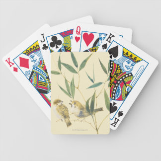 Two Sparrows Deck Of Cards