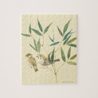 Two Sparrows Jigsaw Puzzles