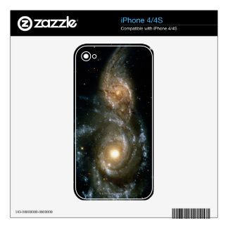 Two Spiral Galaxies 2 iPhone 4S Skin