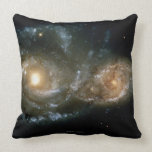 Two Spiral Galaxies 2 Pillow