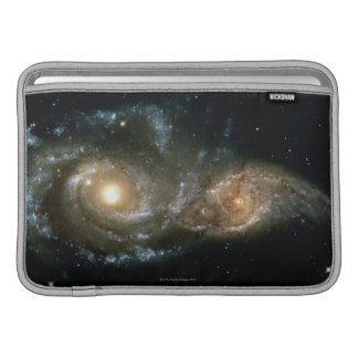 Two Spiral Galaxies 2 Sleeve For MacBook Air
