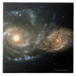 Two Spiral Galaxies 2 Tile