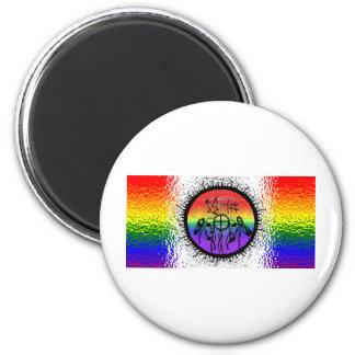 Two Spirit Flag Glass Design Magnets